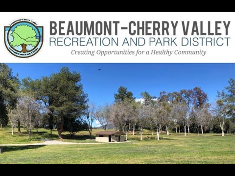Welcome to Bogart Park in Cherry Valley California