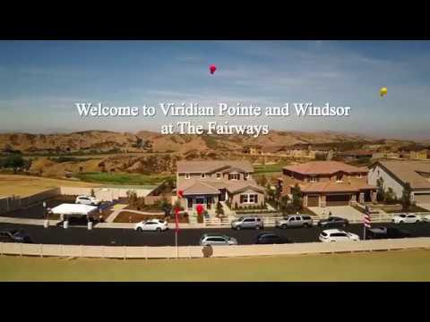 Welcome to Viridian Pointe and Windsor at The Fairways in Beaumont California