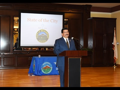 Beaumont Ca State of the City hosted by the Beaumont Chamber of Commerce