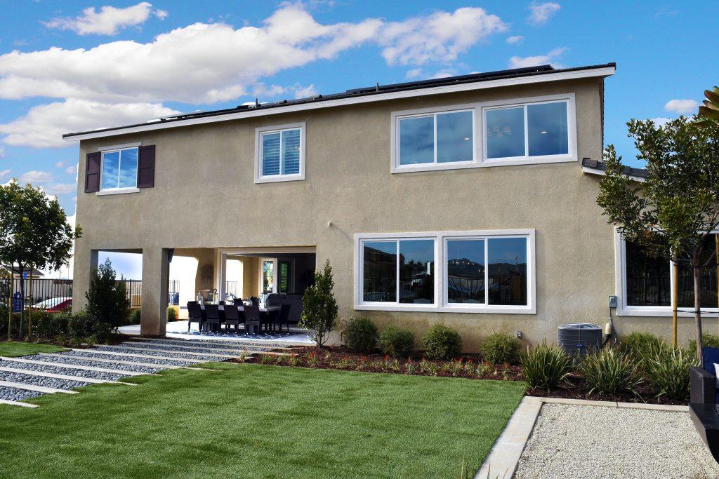 Flagstone Backyard Beaumont Ca